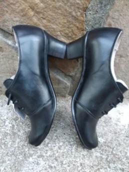 Дамски Обувки на Платформа от Естествена Кожа Модел 1-3