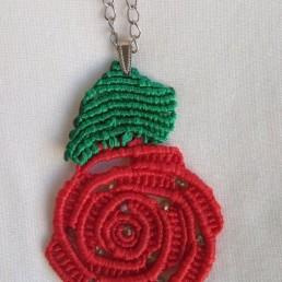 Дамско Колие Роза