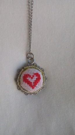 Дамско Колие Сърце