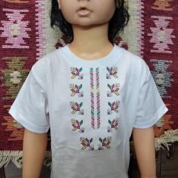 Етно Детска Тениска с Бродерия