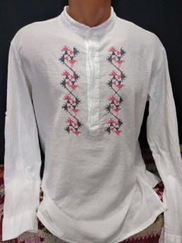 Етно Мъжка Риза с Шевица