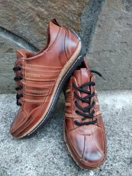 Летни Мъжки Обувки от Естествена Кожа Модел 2