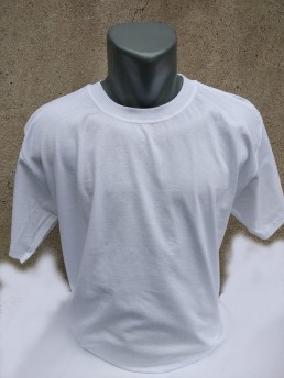 Мъжка Тениска Бяла