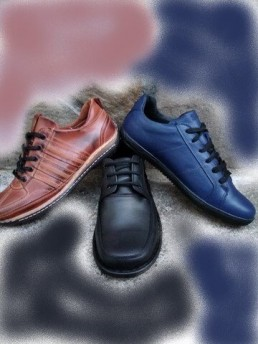 Дамски Обувки от Естествена Кожа Цветове 1