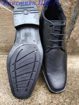 Официални Мъжки Обувки от Естествена Кожа Модел 3-2