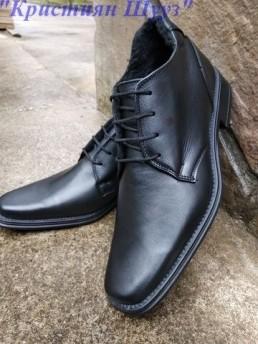 Официални Мъжки Обувки от Естествена Кожа Модел 3-3