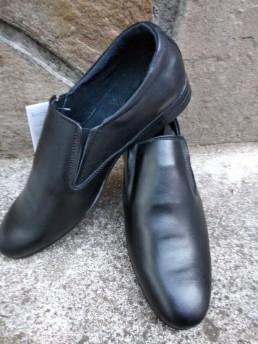 Официални Мъжки Обувки от Естествена Кожа Модел 6
