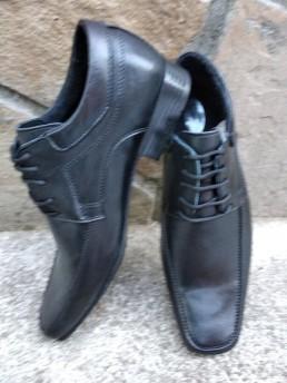 Официални Мъжки Обувки от Естествена Кожа Модел 8-2