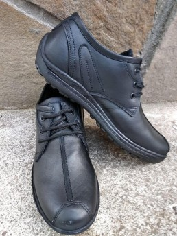 Официални Мъжки Обувки от Естествена Кожа Модел 9-3