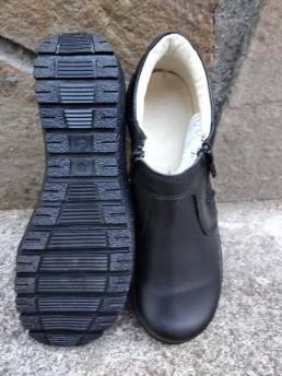Зимни Дамски Обувки от Естествена Кожа Модел 1-2