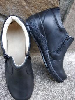 Зимни Дамски Обувки от Естествена Кожа Модел 1-3