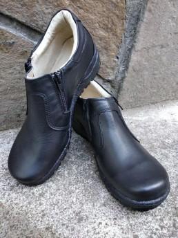 Зимни Дамски Обувки от Естествена Кожа Модел 1