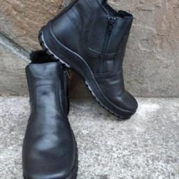 Зимни Мъжки Обувки от Естествена Кожа Модел 4