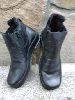 Зимни Мъжки Обувки от Естествена Кожа Модел 4-2