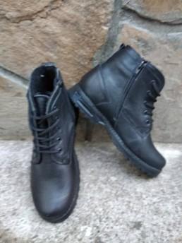 Зимни Мъжки Обувки от Естествена Кожа Модел 5-3