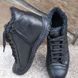 Зимни Мъжки Обувки от Естествена Кожа Модел 6