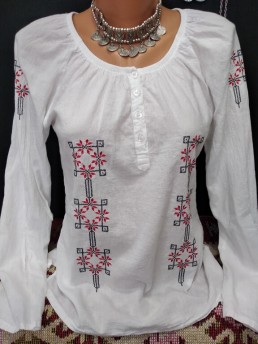 Етно Дамска Риза с Шевица