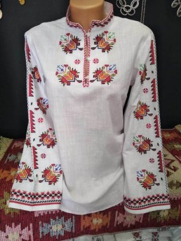 Етно Дамска Риза с Тракийска Шевица 3
