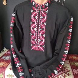 Етно Мъжка Риза с Шопска Шевица