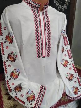 Етно Мъжка Риза с Тракийска Шевица