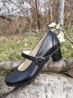 Дамски Обувки от Естествена Кожа Скарпини 2