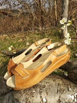 Дамски Сандали от Естествена Кожа Модел 1
