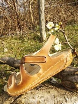 Дамски Сандали от Естествена Кожа Модел 4-2