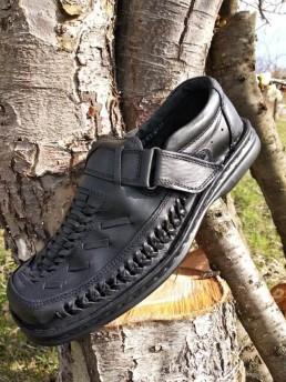 Летни Мъжки Обувки от Естествена Кожа – Модел 14-2