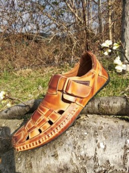 Летни Мъжки Обувки от Естествена Кожа Модел 15