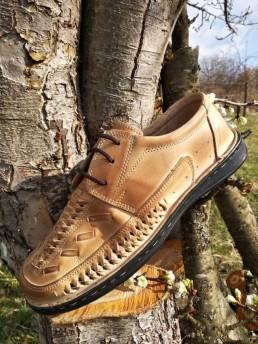 Летни Мъжки Обувки от Естествена Кожа Модел 16-2