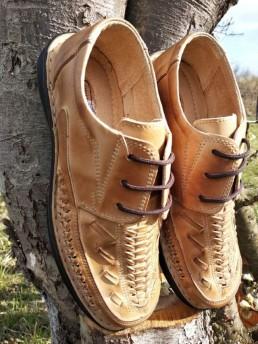 Летни Мъжки Обувки от Естествена Кожа Модел 16
