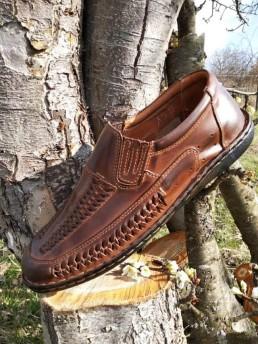 Летни Мъжки Обувки от Естествена Кожа Модел 17-2