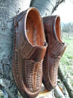 Летни Мъжки Обувки от Естествена Кожа Модел 17
