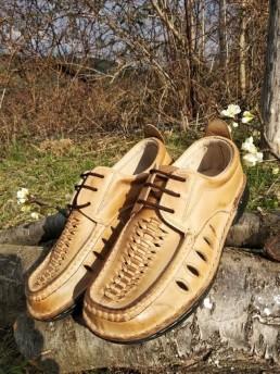 Летни Мъжки Обувки от Естествена Кожа Модел 19