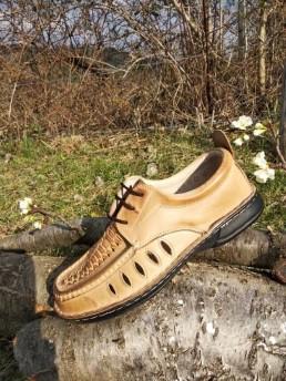Летни Мъжки Обувки от Естествена Кожа Модел 19-2