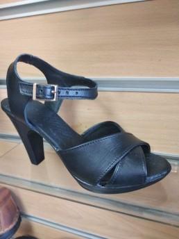 Дамски Обувки на Платформа от Естествена Кожа Модел 4