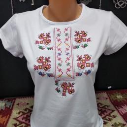 Етно Дамска Тениска с Габровска Шевица