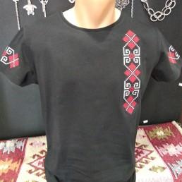Мъжка Етно Тениска с Шевица